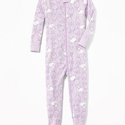 Old Navy Baby Sheep-Print Footed Sleeper For Toddler Girls & Baby Sheep Size 12-18 M   Old Navy US