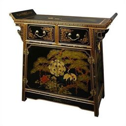 Asian 2 Drawer Altar Accent Cabinet | Wayfair North America