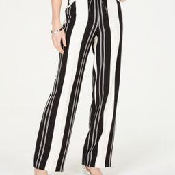 I.n.c. Nolita-Stripe Wide-Leg Pants, Created for Macy's | Macys (US)