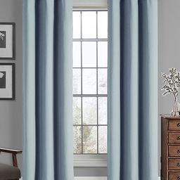 Blue Solid Curtain Panel - Set of Two | zulily