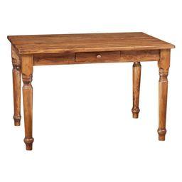 Country Wooden Desk, Walnut | Houzz UK