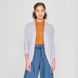 Women's Cocoon Cardigan - A New Day Lavender (Purple) XS | Target