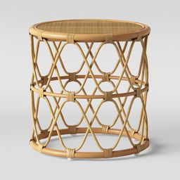 Jewel Round Side Table Natural - Opalhouse | Target