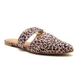 Leopard Swirl O-Ring Ballet Loafer - Women | zulily