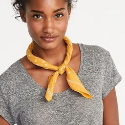 Printed Neckerchief for Women | Old Navy US