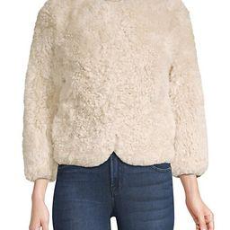 Sheared Tibetan Lamb Fur Jacket   Saks Fifth Avenue OFF 5TH