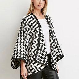 Poncho Knitwear Women Oversized Sweater Cape Coat | Milanoo