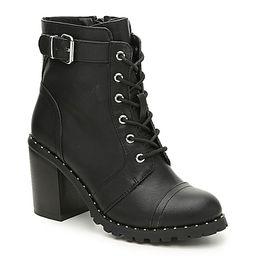 Diba Carryn Bootie - Women's - Black Faux Leather | DSW