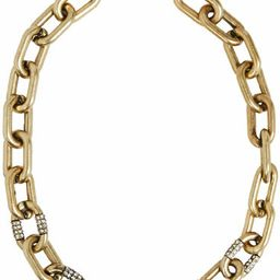 JustFab Necklace Jf Chain Game Womens Gold Size OSFM | JustFab