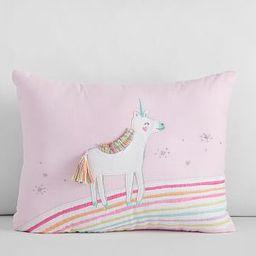 Molly Unicorn Pillow, 12x16, Multi | Pottery Barn Kids