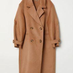 H & M - Cashmere-blend Coat - Beige | H&M (US)