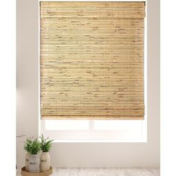 Arlo Blinds Petite Rustique Cordless Lift Bamboo Roman Shades with 60 Inch Height   Overstock