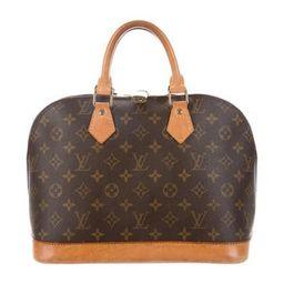 Louis Vuitton Monogram Alma PM Brown | The RealReal