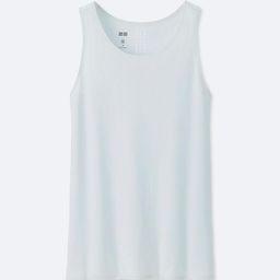 UNIQLO Women's Dry Seamless Tank Top, Blue, S | UNIQLO (US)