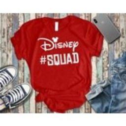 Disney Squad Disney Team Disney T Shirt Unisex Fit Shirt Disney T Shirt Disney Trip Disney T Shirt | Etsy (US)