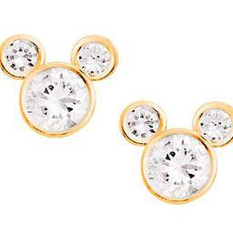 Disney Diamonique Mickey Mouse Stud Earrings, 1 | QVC