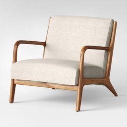 Esters Wood Arm Chair Husk - Project 62 , Millbrook Husk | Target