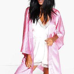 Candy Stripe Robe   Boohoo.com (US & CA)