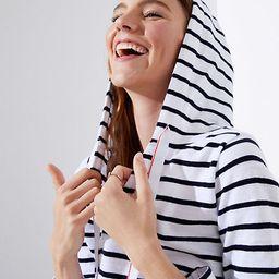LOFT Striped Pullover Hoodie   LOFT