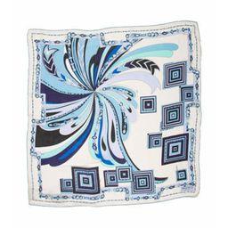 Emilio Pucci Silk Printed Scarf w/ Tags Blue Emilio Pucci Silk Printed Scarf w/ Tags | The RealReal