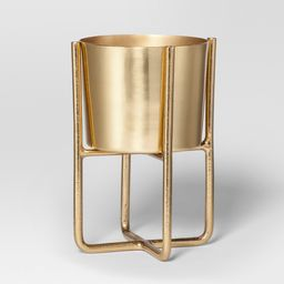 Elevated Indoor Planter - Gold - Project 62 | Target