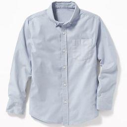 Lightweight Built-In Flex Oxford Uniform Shirt for Boys | Old Navy US