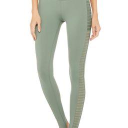 Alo Yoga High-Waist Prism Legging - Moss - Size XXS - Performance Fabric | Alo Yoga