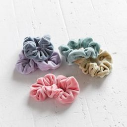 Velvet Hair Scrunchie Set - Blue at Urban Outfitters   Urban Outfitters (US and RoW)