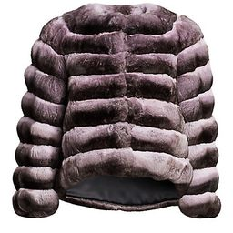 Chinchilla Fur Jacket   Saks Fifth Avenue