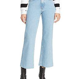 rag & bone/Jean Justine Wide-Leg Ankle Jeans in Broken Nelly   Bloomingdale's (US)