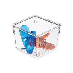 iDesign® Linus Acrylic 4-Inch x 4-Inch Drawer Organizer   Bed Bath & Beyond