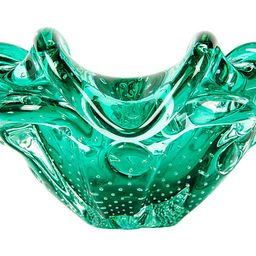 Green Bubble Murano Bowl - La Maison Supreme   One Kings Lane