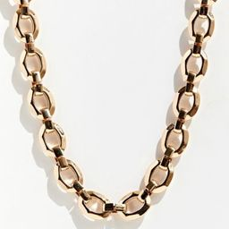 Chain Link Necklace - Gold at Urban Outfitters   Urban Outfitters (US and RoW)