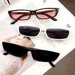 Retro Slim Sunglasses | YesStyle Global