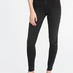 High-Rise Secret-Slim Pockets Rockstar Ankle Jeans for Women | Old Navy US