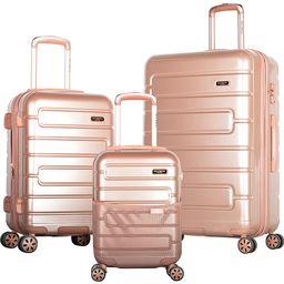 Olympia USA Nema 3 Piece Hardside Spinner Luggage Set Rose Gold(RGD) - Olympia USA Luggage Sets | eBags