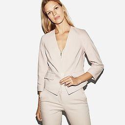 Express Womens One Button Cutaway Blazer Pink Women's 00 Pink 00 | Express