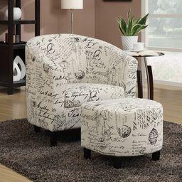 2-Piece Nolan Arm Chair & Ottoman Set | Wayfair North America