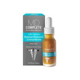 MD Complete Retinol Vitamin C Concentrate - .5 fl oz   Target