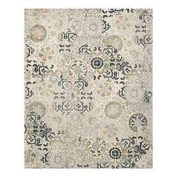 Talia Printed Custom Rug, 10x14', Gray Multi | Pottery Barn (US)