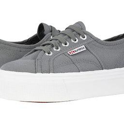 Superga 2790 Acotw Platform Sneaker (Grey Sage) Women's Lace up casual Shoes | Zappos