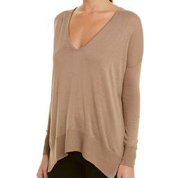 Gold Hawk Cold-Shoulder Sweater   Gilt