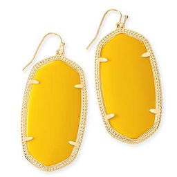 Danielle Earrings in Yellow | Kendra Scott