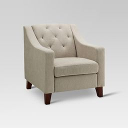 Felton Tufted Chair - Threshold , Brown | Target