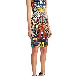 Punto Stoffa Butterfly-Print Dress | Saks Fifth Avenue