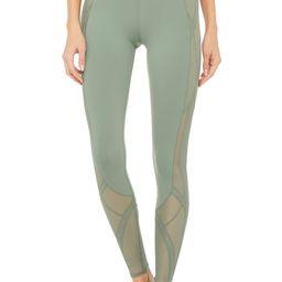 Alo Yoga® High-Waist Mosaic Legging - Moss - Size XXS - Performance Fabric | Alo Yoga