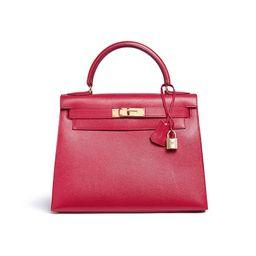 Kelly 28cm Courchevel leather bag | Lane Crawford (US)