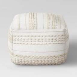 Lory Pouf Neutral Textured - Opalhouse | Target