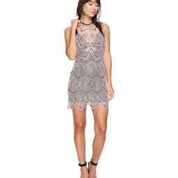 Free People Nothing Like This Mini Dress (Nude) Women's Dress   6pm