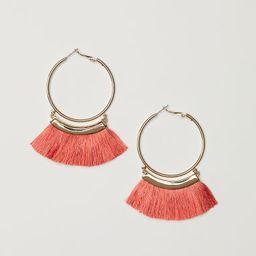 H & M - Tasselled earrings - Orange   H&M (US)
